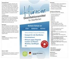 HURACAN - Desinfektionsmittel für Oberflächen 5 Liter Gebinde