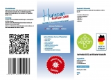HURACAN Human Care MANIBUS - Handdesinfektionsgel - alkoholfrei - chlorfrei - hautschonend - 10 ltr